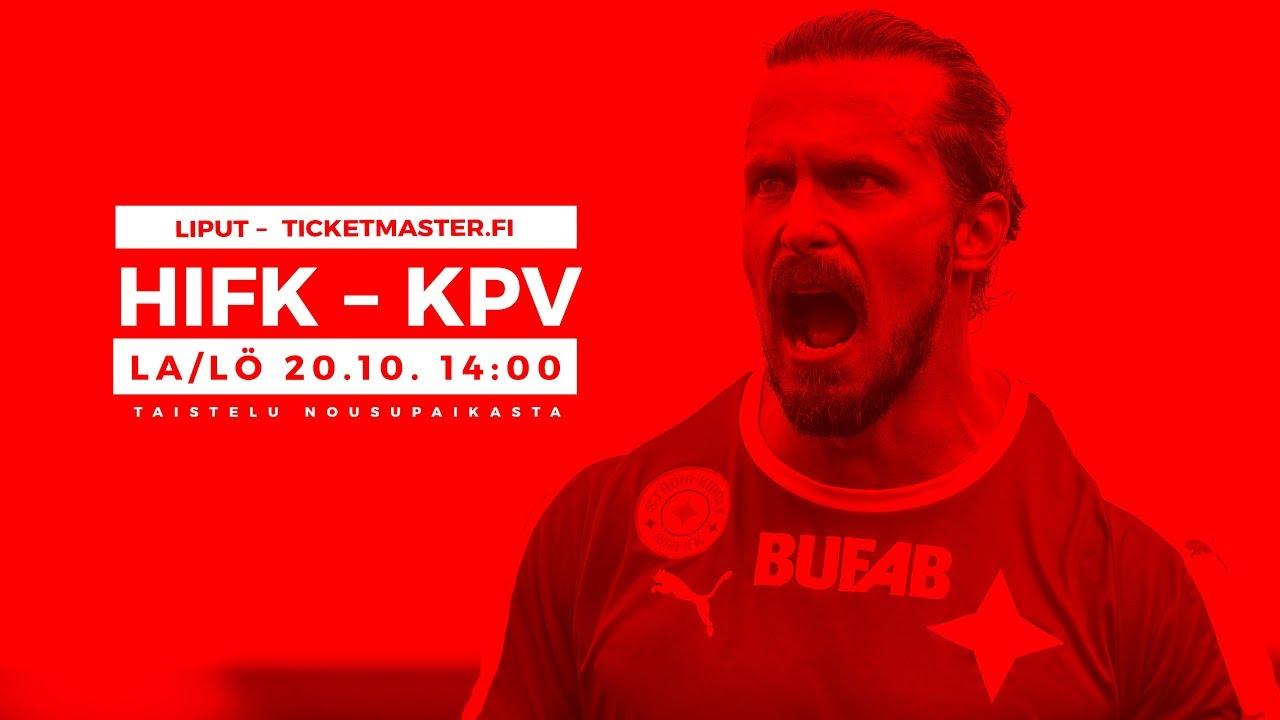 Terävä   Kankkunen HIFK-KPV 20.10.2018. HIFK Fotboll 7de1ea57b20eb