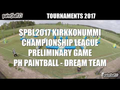 PH Paintball vs Dream Team - SPBL2017 Kirkkonummi
