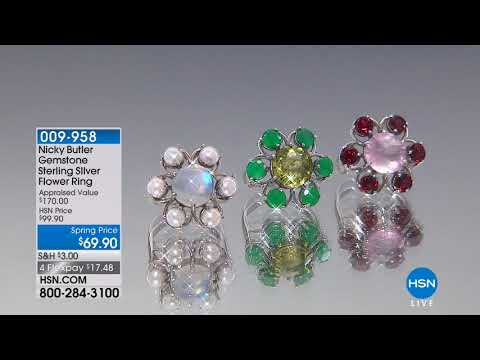 HSN | Silver Designs By Nicky Butler Jewelry 03.09.2018 - 01 PM