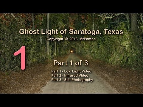 Bragg Ghost Road Light Saratoga Texas 1 of 3 Low Light Test