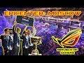 Видеодневники ASUS ROG на EPICENTER: MOSCOW – Церемония открытия, Профайлы LIQUID и VIRTUS.PRO