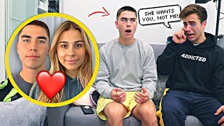 MY GIRLFRIEND HAS A CRUSH ON YOU PRANK ON BEST FRIEND!