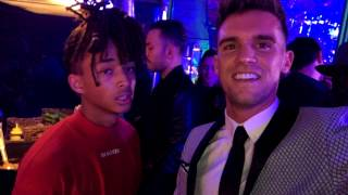 Gaz Beadle had a dance-off with Jaden Smith | Snapchat | Ft Emma McVey | November 6 2016