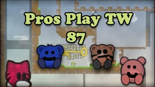 Teeworlds - Pros play TW 87: It's never gonna work!