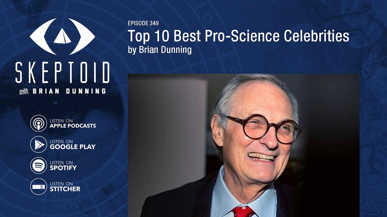 Top 10 Best Pro-Science Celebrities