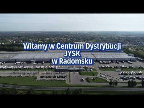 Centrum Dystrybucji JYSK w Radomsku.