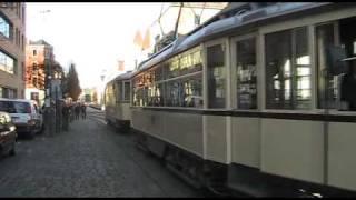 Dresden Tram Tatra und Hecht.flv
