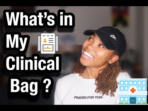 What's In My Clinical Bag ?