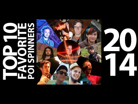 Top 10 Favorite Poi Spinners of 2014