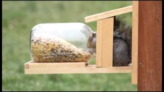 Duncraft's Squirrel Jar Feeder 5729