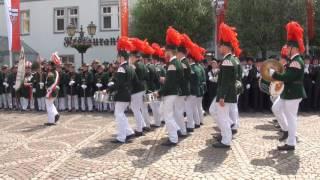 Parade der Junggesellen Fronleichnam 2016
