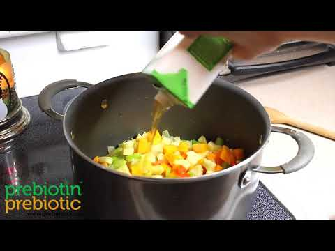 Vegetable Quinoa Soup - Microbiome Minute
