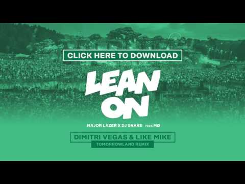 youtube dj snake. Слушать Major Lazer x DJ Snake feat. M - Lean On (Dimitri Vegas & Like Mike Remix) - YouTube