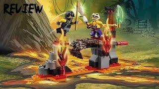 Lego Ninjago Set Review 70753 Lava Falls