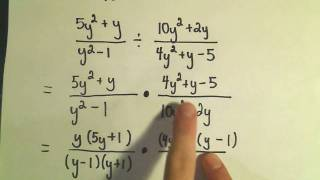 Rational Expressions Multiplying and Dividing Ex 3