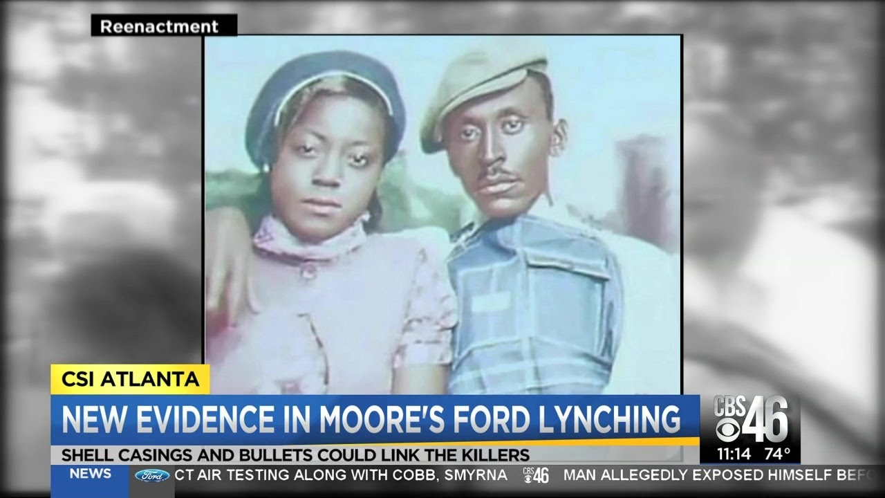 New evidence in Moore's Ford lynching