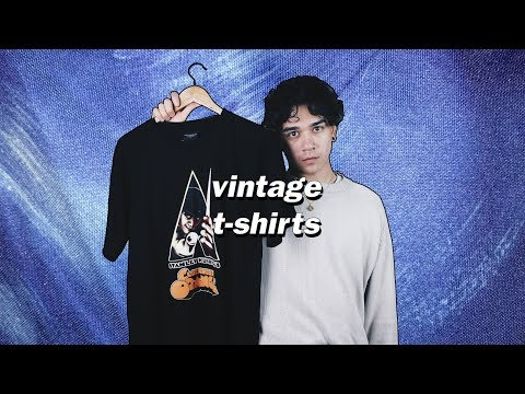 TRIP TO THE THRIFT: TOMMY HILFIGER & VINTAGE T-SHIRTS
