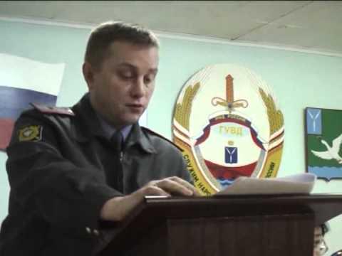 """Baronsk.com """"Отдел МВД: итоги работы за 2011г. - 13.01.12г."""" Маркс ТВ"""