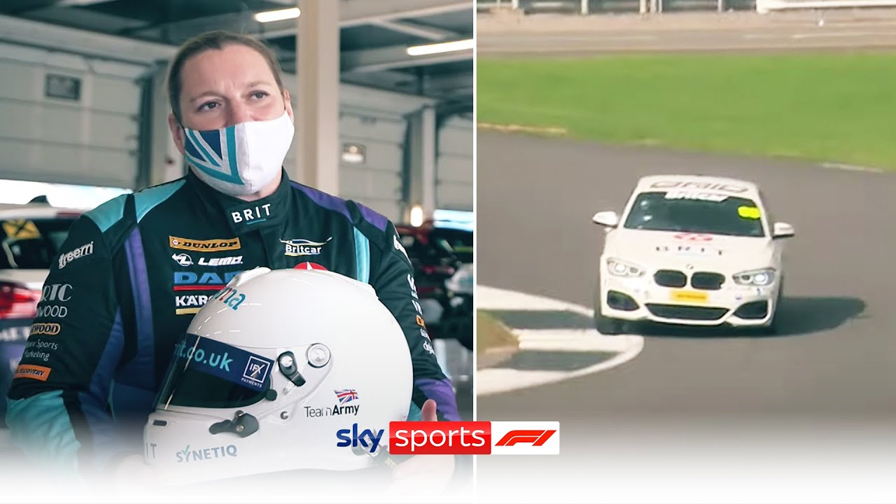 The inspirational story of Team Brit's newest driver Nerys Pearce