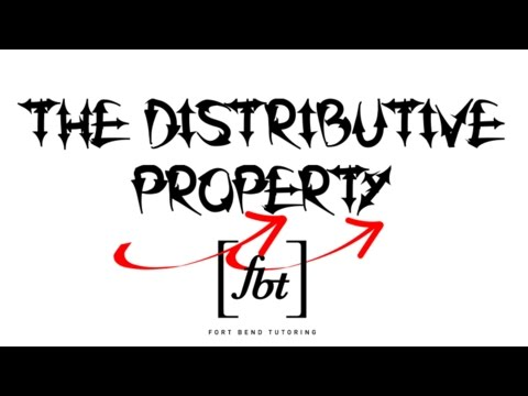 The Distributive Property (The Official [fbt] Get Your Arrows Poppin'! Party)