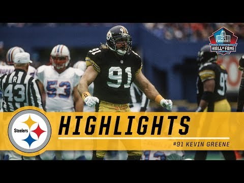 Kevin Greene Terrorized QBs | Pittsburgh Steelers