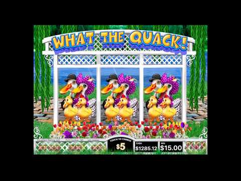 """New ETab bonus game NOW AVAILABLE """"What The Quack"""" From 3 Diamond and Complaint Gaming"""