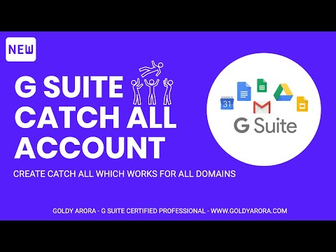 Google Apps Catchall Account Secondary Domains