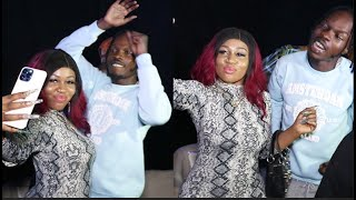 See The Beautiful Girl Naira Marley Dance With As He Chills With Mohbad, Others At Tiwa Savage
