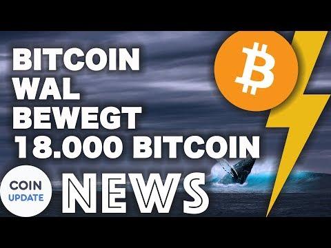 18.000 Bitcoin in Richtung BitMEX-Wallet, Ethereum Kursverfall durch ICOs? -  Krypto News 15.08.2018
