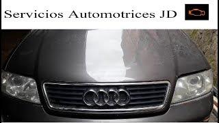 No tiene potencia al acelerar Audi A6