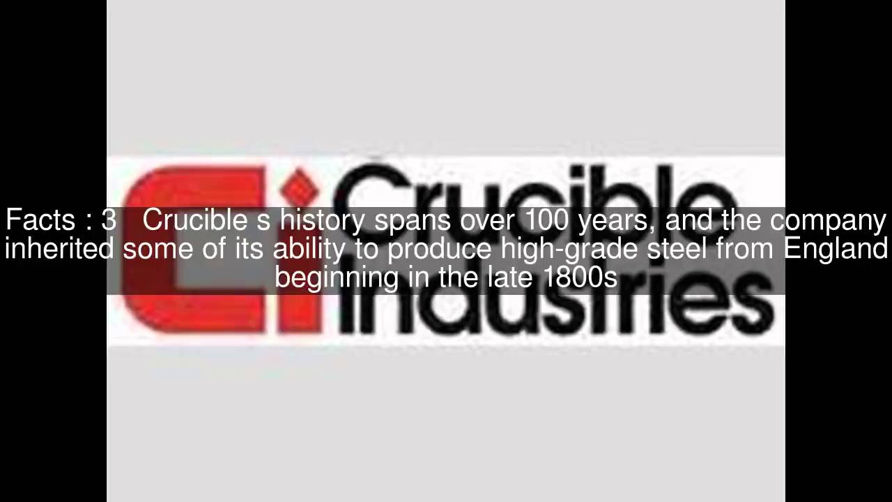 Crucible Industries - Alchetron, The Free Social Encyclopedia