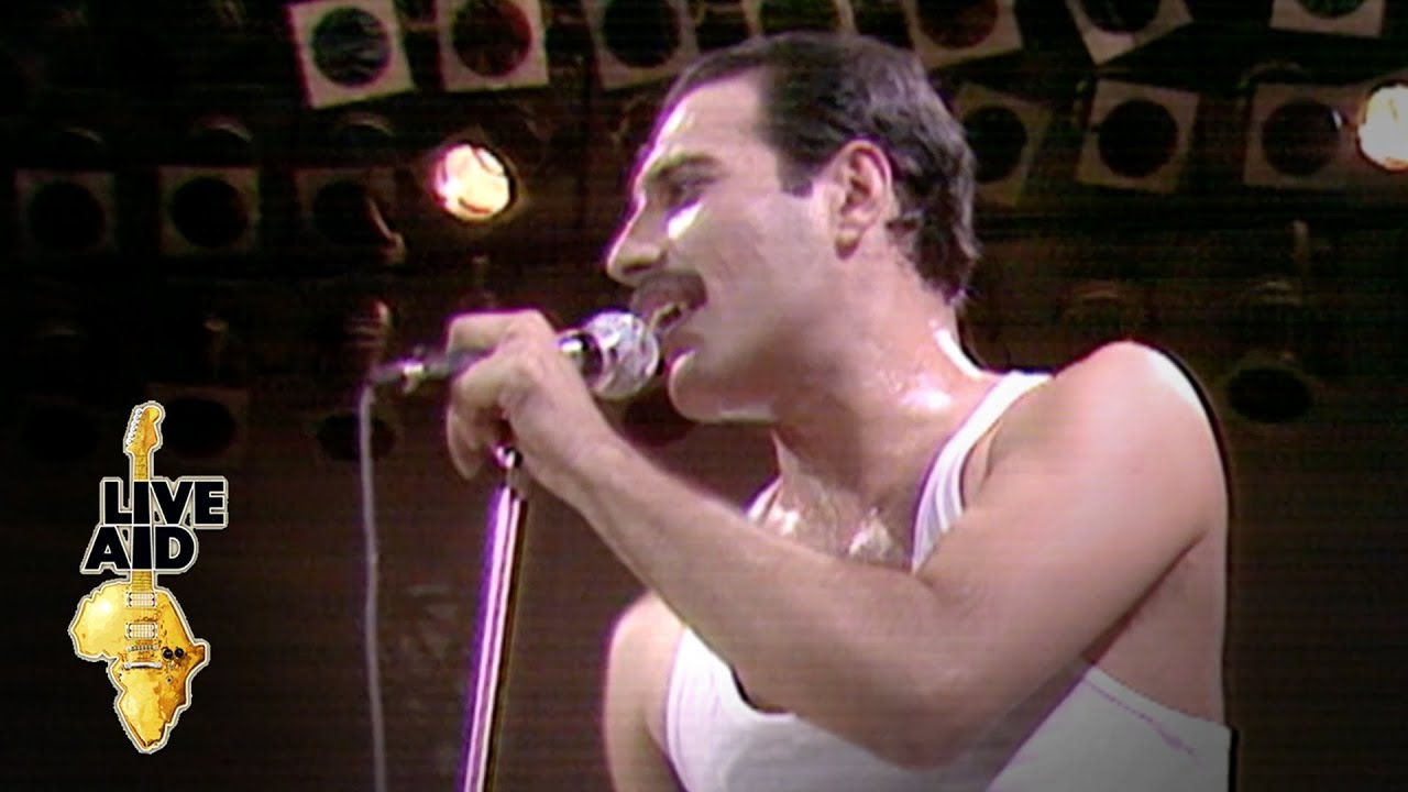 Queen We Will Rock You Live Aid 1985 Youtube