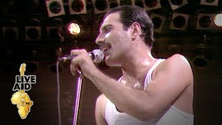 Queen - We Will Rock You (Live Aid 1985)