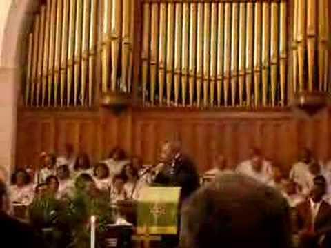 Joseph Lowery At Big Bethel AME Church