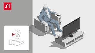 Cómo usar Signia StreamLine Mic con StreamLine TV