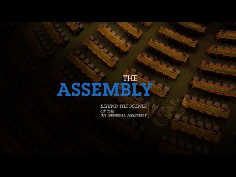 Behind the scenes of the UN General Assembly