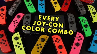 how to change joy-con color videos, how to change joy-con