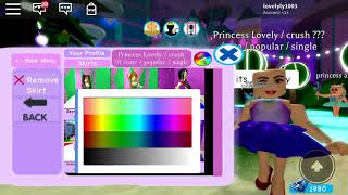 Dressing a Rapunzel in royal high / ROBLOX gaming / ep 1 making princess in ROBLOX