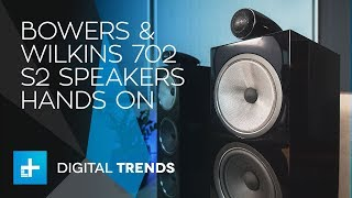 Bowers & Wilkins 702 S2 Speakers - Hands On Review