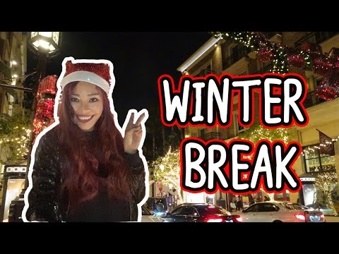 Winter Break || Kristen in California Travel Vlog
