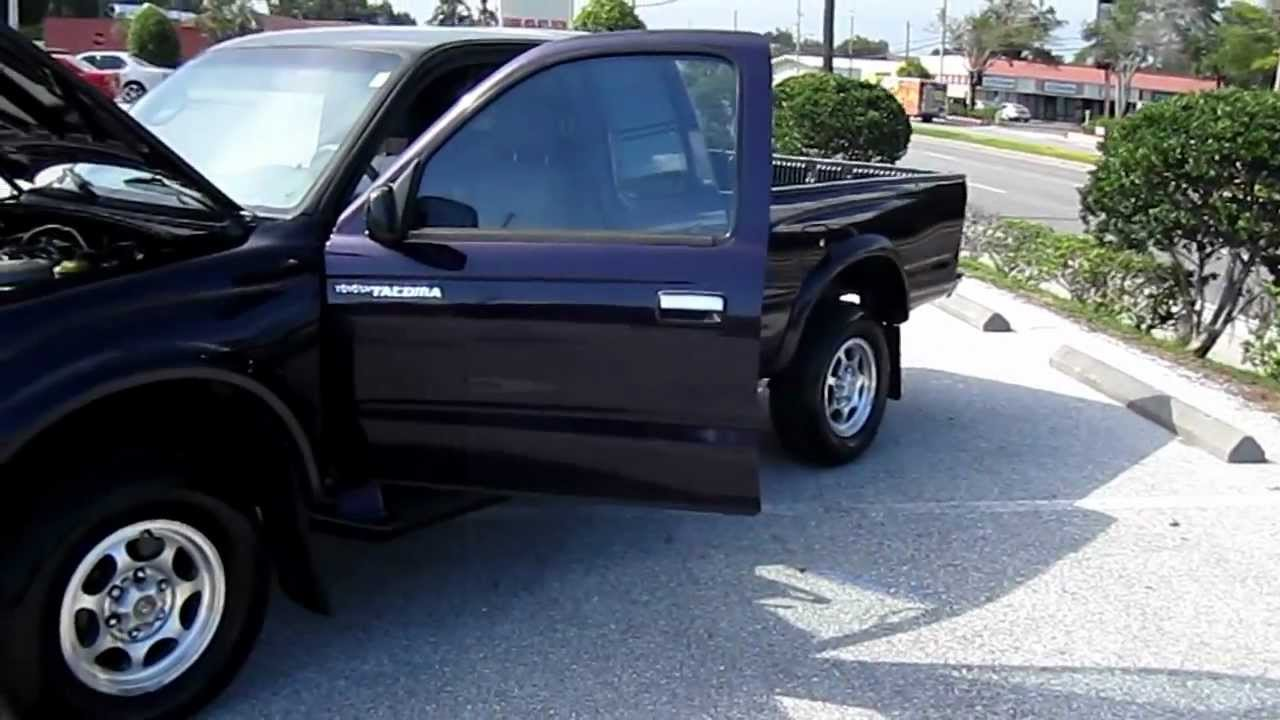 Prerunner For Sale >> SOLD 1998 Toyota Tacoma PreRunner 123k Miles Meticulous Motors Inc Florida For Sale - YouTube