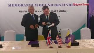 UiTM inks MoU with UK's Heriot-Watt University