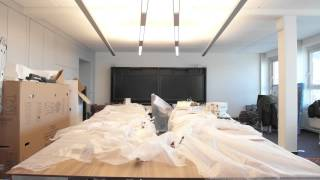 Time lapse video of the DEKOM MPE Installation