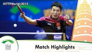 wttc 2015 highlights zhang jike vs fang bo 1 2