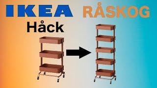 SharkMake - Ikea Hack, Raskog