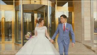 КРАСИВАЯ ПАРА 😍  Wedding in Kazahistan Kyzilorda / БАЙКАДАМ и АРАЙЛЫМ / Свадьба 2017 Кызылорда