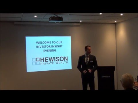 Hewison Private Wealth March Investor Series 2016
