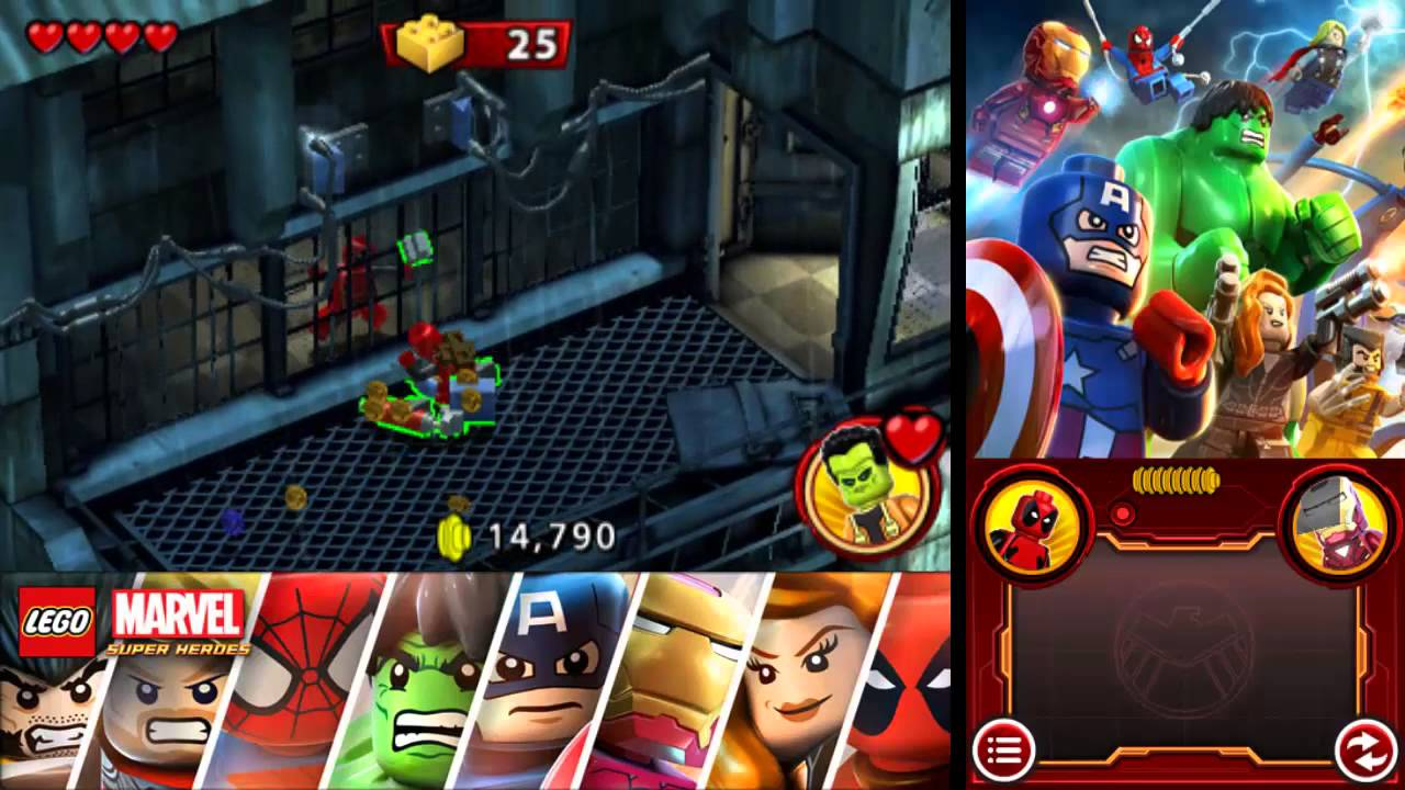 LEGO MARVEL SUPERHEROES GUIDE EBOOK