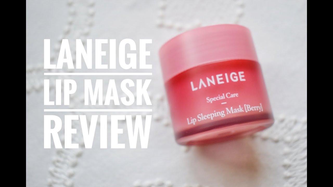 Laneige Lip Mask Review K Beauty Thursday Youtube Sleeping