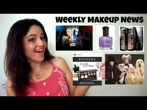What's Up In Makeup - Makeup NEWS - Week of August 16, 2015 * Jen Luv's Reviews *